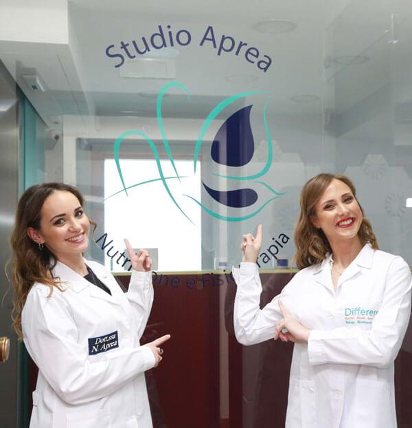 la dottoressa Alessia Aprea e la dottoressa Nadia Aprea