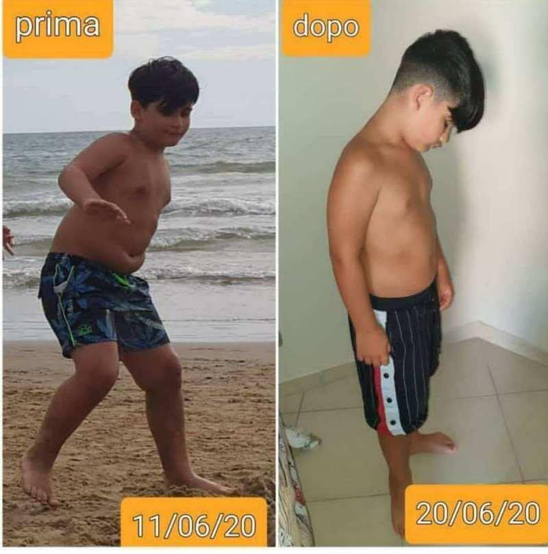 Cambiamenti in 9 giorni con la different diet