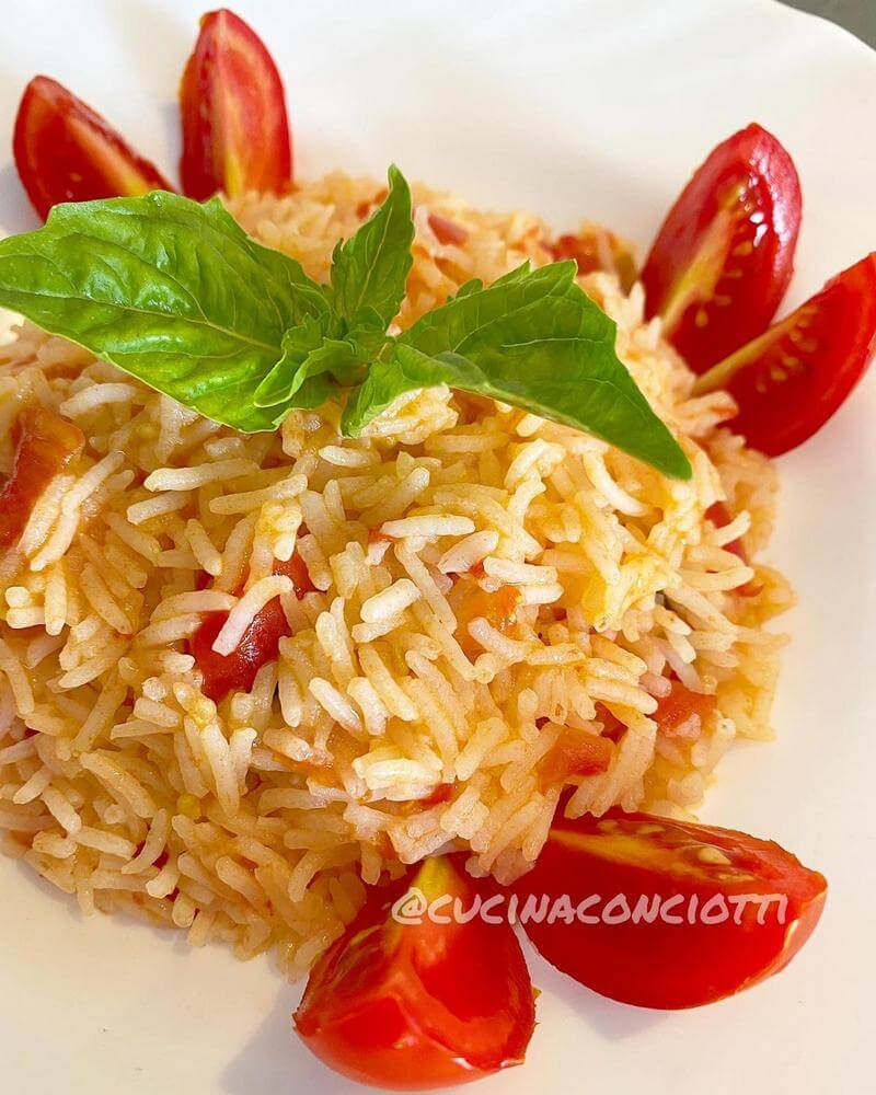 immagine ricetta riso freddo con pomodorini