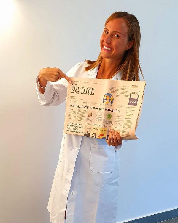 la dottoressa Alessia Aprea sul quotidiano nazionale il sole 24 ore