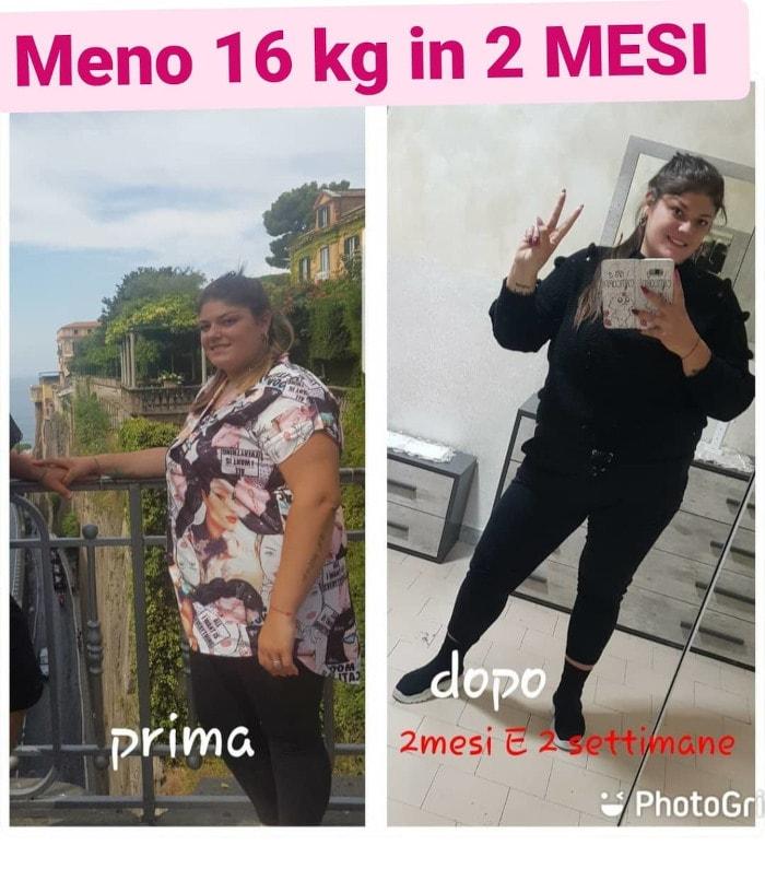 Differentdiet - Alessandra, meno 16 kg in 2 mesi