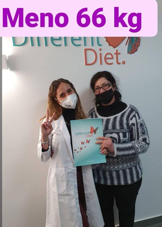 Risultati Different Diet della dottoressa Alessia Aprea