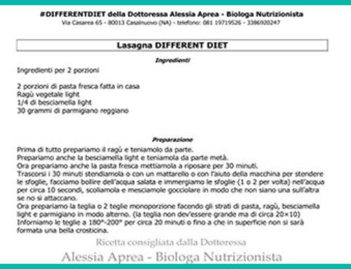 Lasagna Different Diet