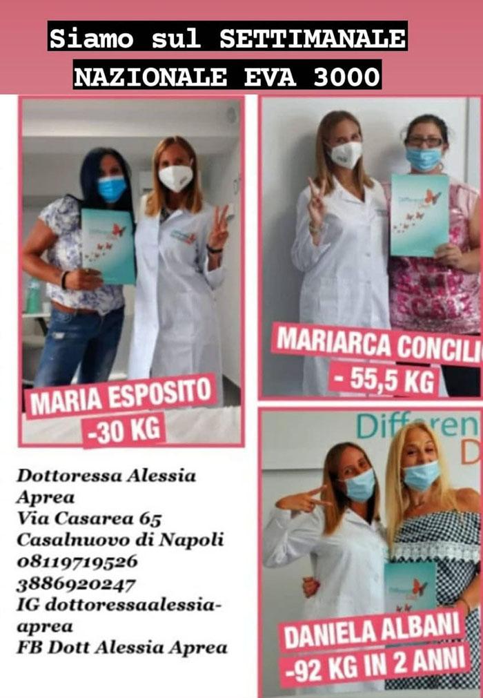 La dottoressa Alessia Aprea sul settimanale nazionale Eva 3000