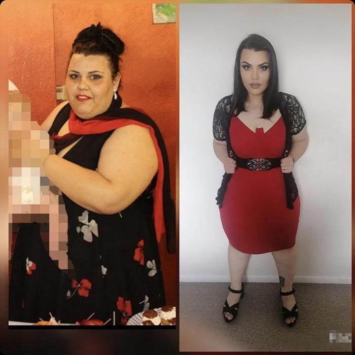 La trasformazione con la Different Diet