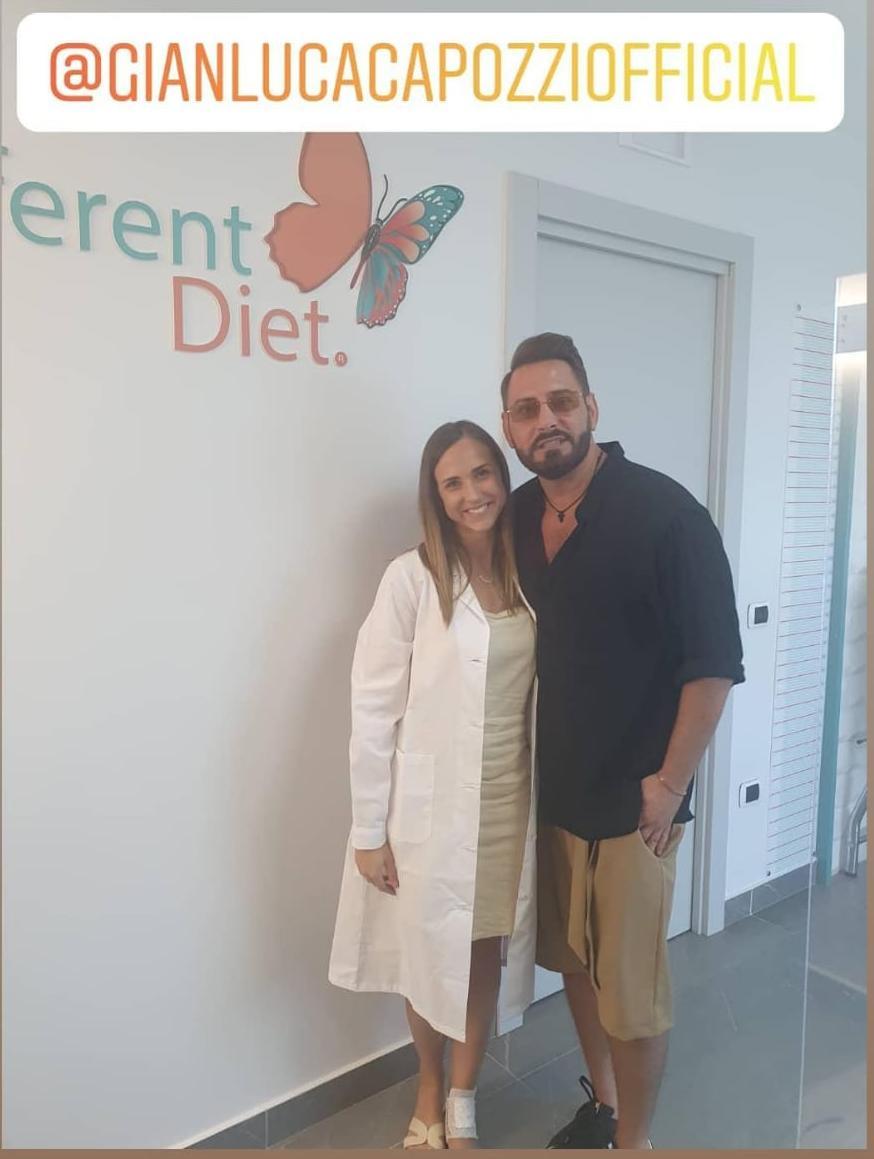 Gianluca Capozzi e la DifferentDiet della dottoressa Alessia Aprea