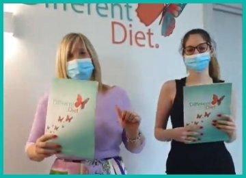 Grandi soddisfazioni per mamma e figlia con la DifferentDiet della dottoressa Alessia Aprea